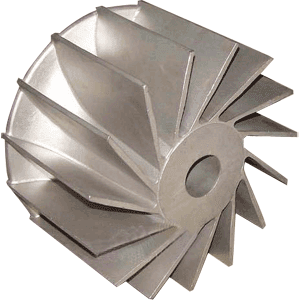 CNC Turned Impeller Casting